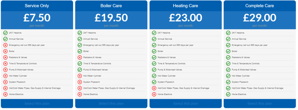 Aura Gas Cover Plans For Boilers Out Of Guarantee